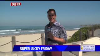 Big bug gives FOX 5 reporter a big scare: