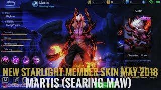STARLIGHT MEMBER SKIN MAY 2018 - MARTIS (SEARING MAW)