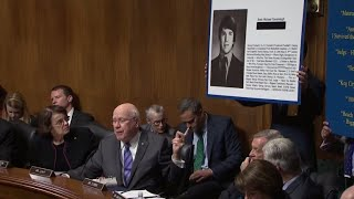 Brett Kavanaugh questioned about his high school yearbook