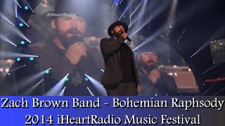 Zac Brown Band - Bohemian Rhapsody (2014 iHeartradio)