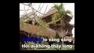 Thái Bình Quê Lúa Hát Chèo Karaoke Beat