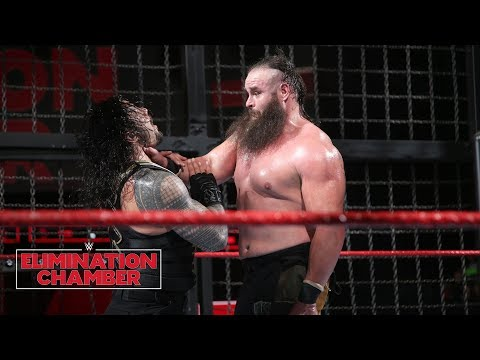 Xxx Mp4 Braun Strowman Leaves A Path Of Destruction WWE Elimination Chamber 2018 WWE Network Exclusive 3gp Sex