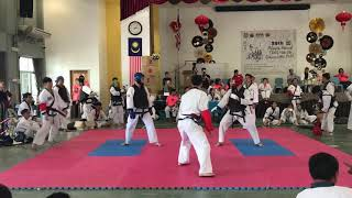 Tang Soo Do National 2018- Tock Thye Jen vs Eric Chang