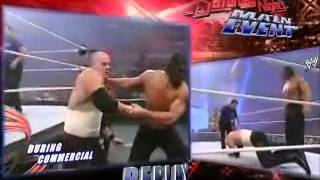Batista and Kane vs The Great Khali and Finlay