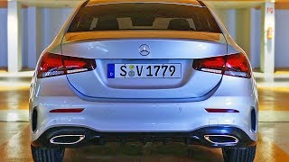 Mercedes A-Class Sedan (2019) Ready to fight Audi A3 Sedan