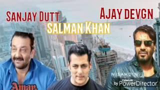 Amar Akbar Anthony remix Ajay devgn  sanjay dutt salman Khan  devgn fan R Nazeer bangalore