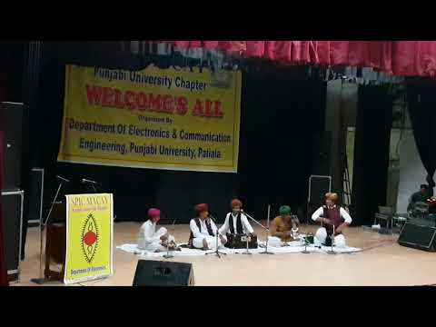 Xxx Mp4 Anwar Khan Langa And Troupe Performance In Punjabi University Dama Dam Mast Kalandar 3gp Sex