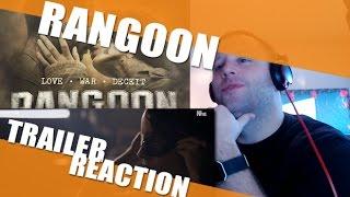 Rangoon Trailer Reaction - It's tough to entertain the TROOPS!