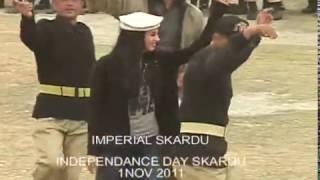 INDEPENDANCE DAY SKARDU BALTI FOLK DANS MAQPOON POLO GROUNG SKARDU