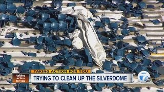 Trying to clean up the Silverdome