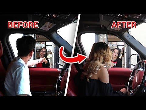 Xxx Mp4 DRIVE THRU PERSON SWAP PRANK Crazy Freakout 3gp Sex