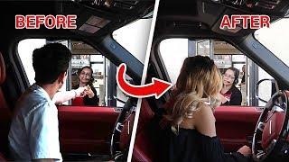 DRIVE THRU PERSON SWAP PRANK! **crazy freakout** | Pranks | FaZe Rug