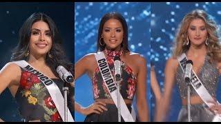 ♪ con Mexico, Colombia y Venezuela ♪ Miss Universe 2016