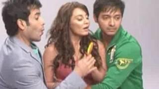 Tusshar Kapoor, Shreyas Talpade & Minissha Lamba shoot for a promotional song