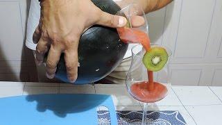 How to make WATERMELON JUICE | Food Tricks