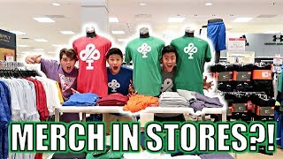 PUTTING OUR MERCH ON STORE MANNEQUINS PRANK! (Xbox One GIVEAWAY)