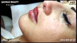 Kalıcı Makyaj Uygulaması - Dudak