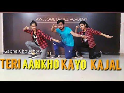 Xxx Mp4 Teri Aakhya Ka Yo Kajal Sapna Choudhary Official Dance Video RK Awesome Dance Academy 3gp Sex