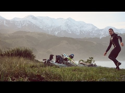 Surfing in New Zealand