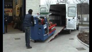 WM System Mobile Tyre Changer