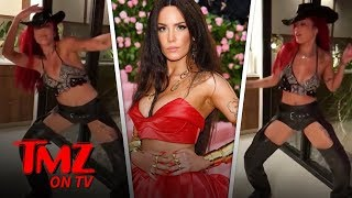 Halsey Twerks in Assless Chaps to Lil Nas X's 'Old Town Road'   TMZ TV