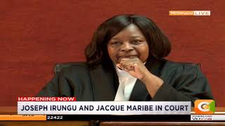 Jacquie Maribe to have mental assesment done at Mathare #DayBreak