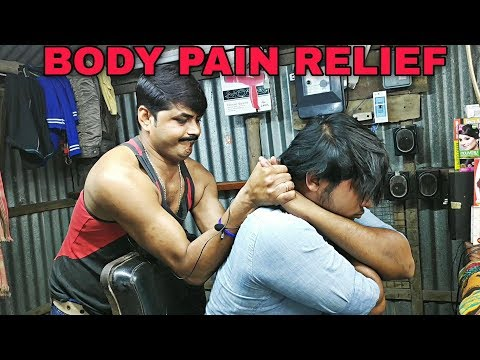 Xxx Mp4 Body Pain Relief Head And Upper Body Massage By Indian Barber Neck Cracking ASMR 3gp Sex