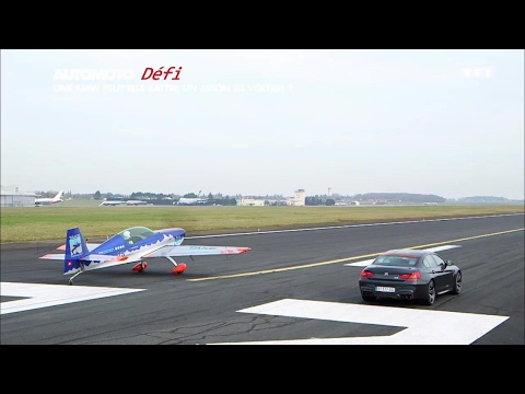 Défi La BMW M6 Gran Coupé peut elle battre un avion