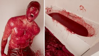 Bathing In 90 LITRES of CHILLI SAUCE