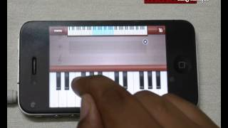baarish from movie yaariyan played on mobile phone piano app