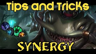 Tahm Kench - Tips, Tricks and Synergy with Champions - Синергия Таама.