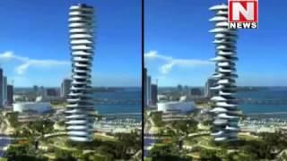 Moving building in Dubai ( UAE )