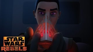 Ezra and the Sith Holocron | Star Wars Rebels | Disney XD