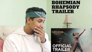 Bohemian Rhapsody | Official Trailer [HD] | 20th Century FOX (REACTION)