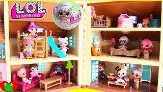 LOL Surprise Doll House Bunk Beds and Bedrooms