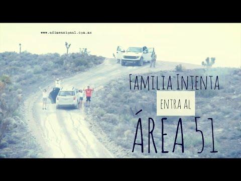Familia Intenta Entrar al Área 51 esto fue lo que paso Viral
