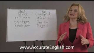 English Pronunciation - vowel changes in stressed and unstressed syllables | Accurate English
