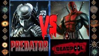 the Predator (Dark Horse Comics) vs Deadpool (Marvel Comics)  - Ultimate Mugen Fight 2016