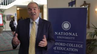 Dr. David Andrews | National University President | How I got into teaching