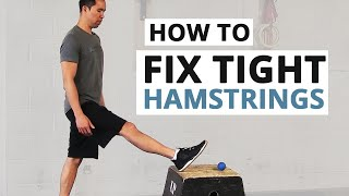 How To Fix Tight Hamstrings (HINT: Static Stretching Doesn't Work)