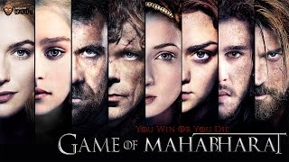 Game of Mahabharat - BollywoodGandu - Gandugiri Parody of Game of Thrones