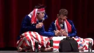 Nay Toe & Kyaw Kyaw Bo - Funny Fortune Teller ( Perform in Los Angeles )
