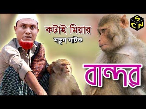 Sylheti New Natok | Bandor | বান্দর | Kotai Miah | কটাই মিয়া | Sylheti Comedy Natok | Full HD