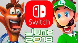 10 Nintendo Switch Games Coming June 2018!