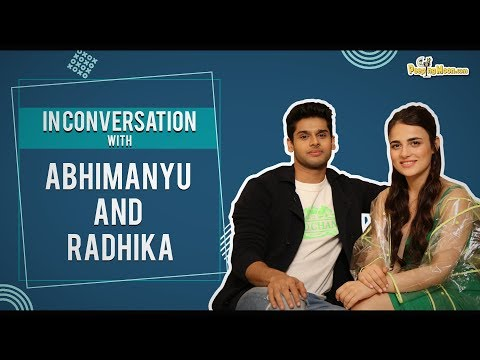 Xxx Mp4 In Conversation With Abhimanyu Dassani And Radhika Madan 3gp Sex