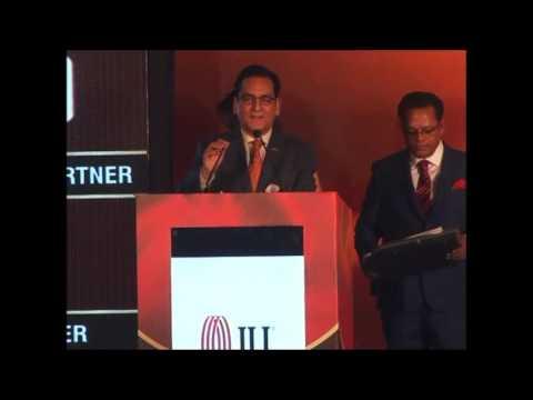 Hotelier India 2017   life time achievement award to Mr  K B Kachru