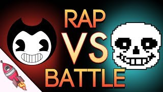 Bendy and the Ink Machine VS Undertale Rap Battle | Bendy vs Sans | Rockit Gaming