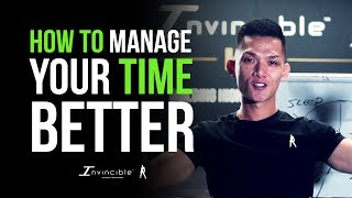 How To Manage Your Time To Train | INVINCIBLE MINDSET