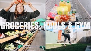 GROCERY HAUL, GYM & BEING PRODUCTIVE! - VLOG 🍋🍳