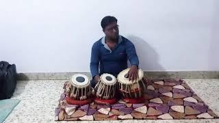 Mohe rang do lal,tabla cover by pankaj yadav.from movie bajirao mastani.